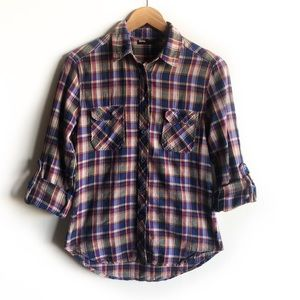 BDG Urban Outfitters plaid flannel shirt